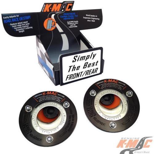 K-MAC BMW E36/7, E36/8 - Z3 & M Front Camber & Caster Strut Mount Kit