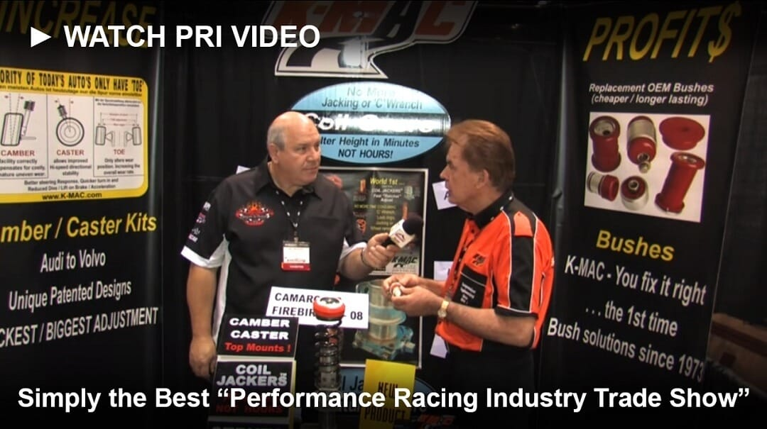 K-mac PRI Show interview on Youtube
